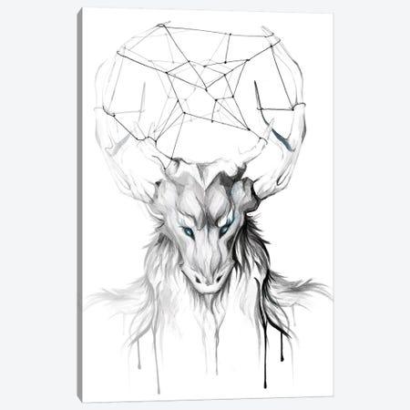 Wendigo Canvas Print #KLI150} by Katy Lipscomb Canvas Art Print