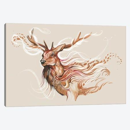 Winter Ghost Canvas Print #KLI154} by Katy Lipscomb Canvas Wall Art