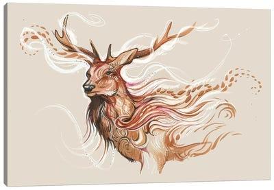 Winter Ghost Canvas Art Print