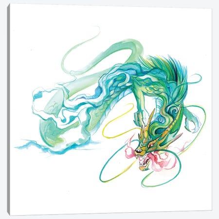 Chinese Dragon Canvas Print #KLI18} by Katy Lipscomb Canvas Art