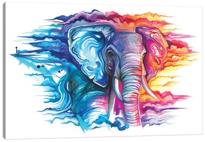 Cloud Walker Canvas Art Print