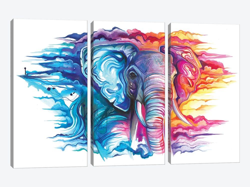 Cloud Walker by Katy Lipscomb 3-piece Art Print