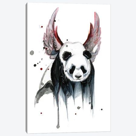 Disappearing Panda I Canvas Print #KLI26} by Katy Lipscomb Canvas Art