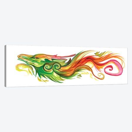 Dragon Forest Spirit Canvas Print #KLI29} by Katy Lipscomb Art Print
