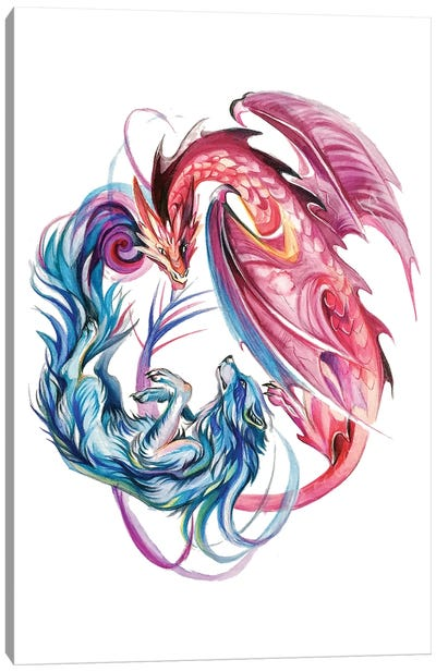 Duality Canvas Art Print
