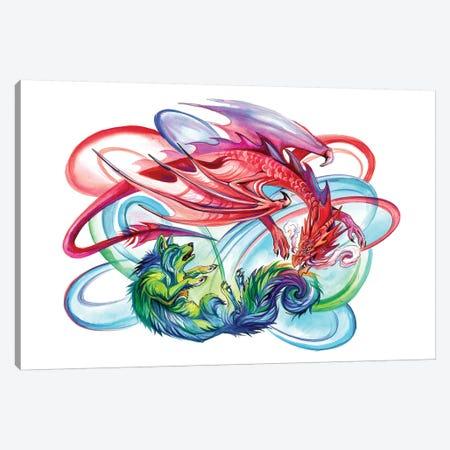 Duel Canvas Print #KLI35} by Katy Lipscomb Canvas Art Print