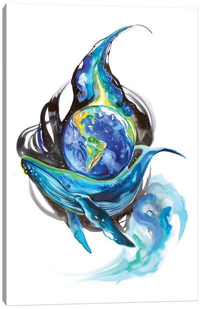 Earth Day Canvas Art Print