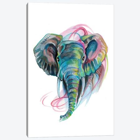 Elephant III Canvas Print #KLI39} by Katy Lipscomb Canvas Art