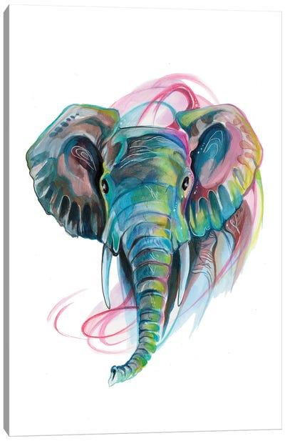 Elephant III Canvas Art Print