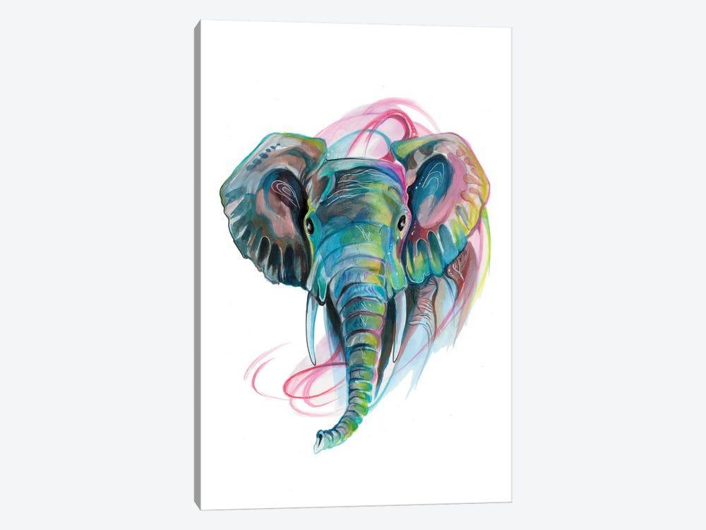 Elephant III by Katy Lipscomb 1-piece Canvas Art Print