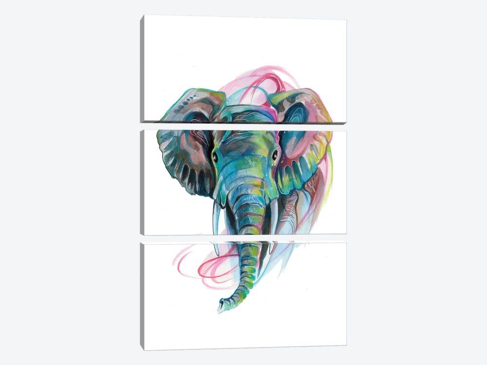 Elephant III by Katy Lipscomb 3-piece Art Print