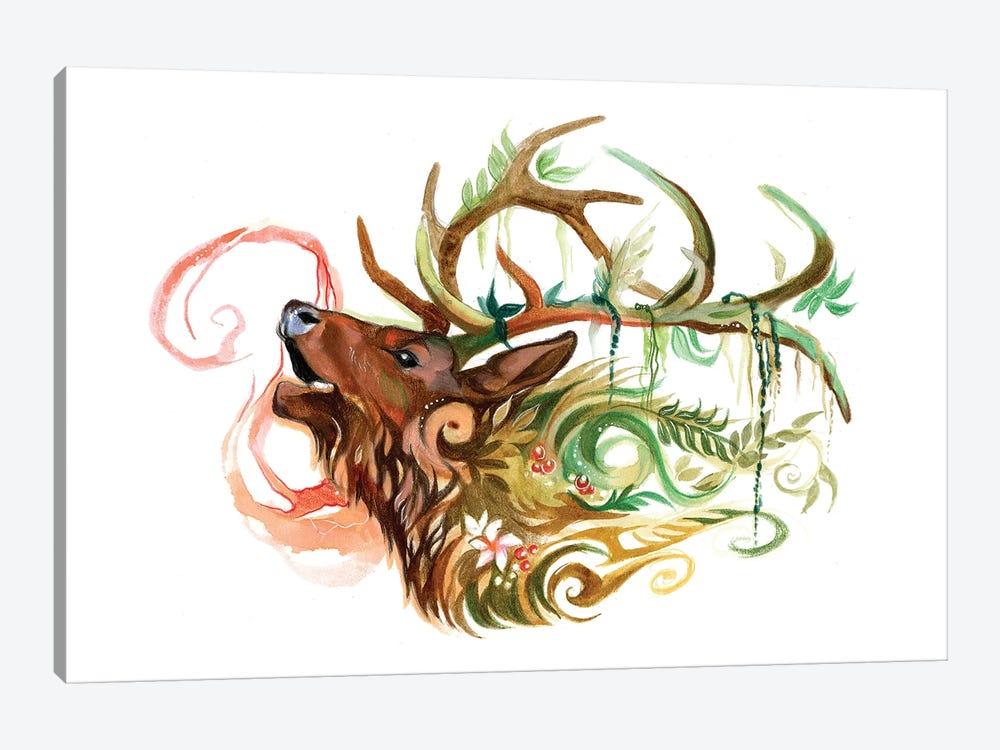 Elk by Katy Lipscomb 1-piece Canvas Art Print