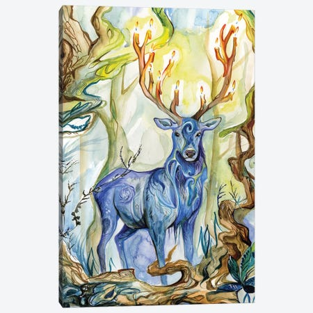 Forest Spirit Canvas Print #KLI47} by Katy Lipscomb Canvas Art