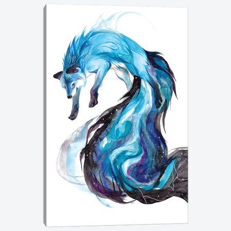 Galaxy Fox Canvas Print #KLI49} by Katy Lipscomb Art Print