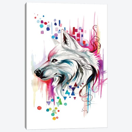 Geometry Canvas Print #KLI51} by Katy Lipscomb Canvas Art
