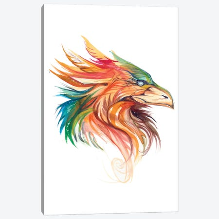 Griffon Canvas Print #KLI54} by Katy Lipscomb Art Print