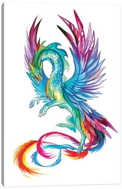 Hummingbird Dragon Canvas Art Print