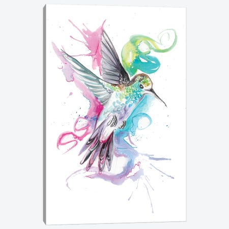 Hummingbird Canvas Print #KLI63} by Katy Lipscomb Canvas Print