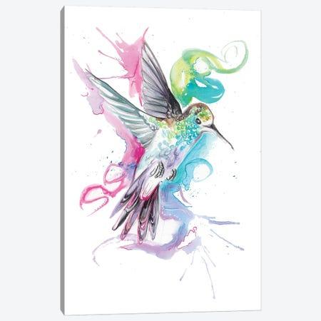 Hummingbird Canvas Print #KLI63} by Katy Lipscomb Canvas Print