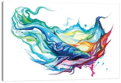 Humpback Whale Canvas Art Print