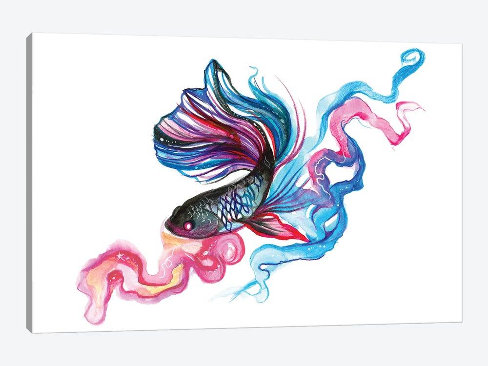 Betta Fish by Katy Lipscomb 1-piece Canvas Print