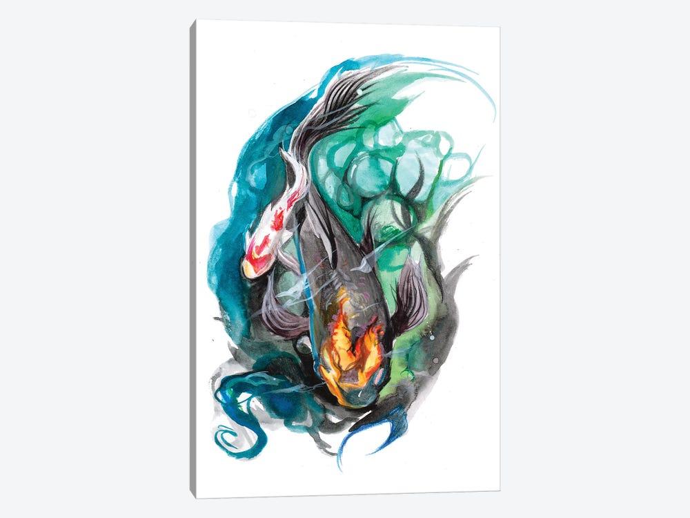 Koi Pond by Katy Lipscomb 1-piece Art Print