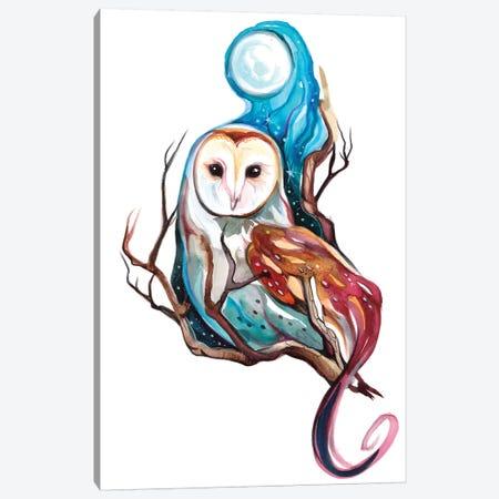 Night Owl Canvas Print #KLI85} by Katy Lipscomb Canvas Art