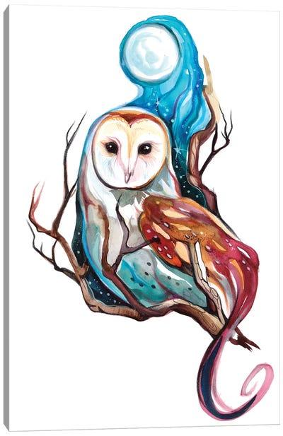 Night Owl Canvas Art Print
