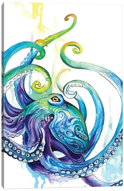 Octopus Canvas Art Print