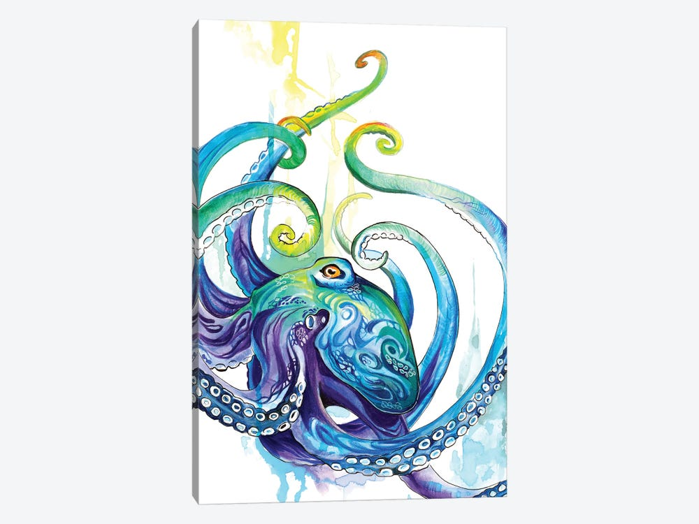 Octopus 1-piece Canvas Print