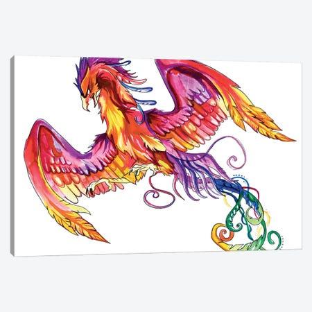 Phoenix Canvas Print #KLI96} by Katy Lipscomb Art Print