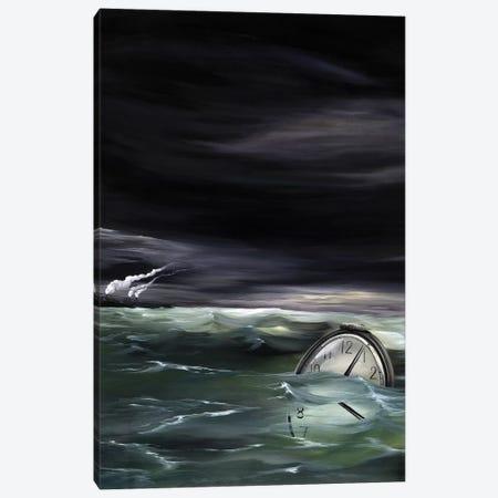 WI Book 3-Piece Canvas #KLL111} by Kristin Llamas Canvas Print