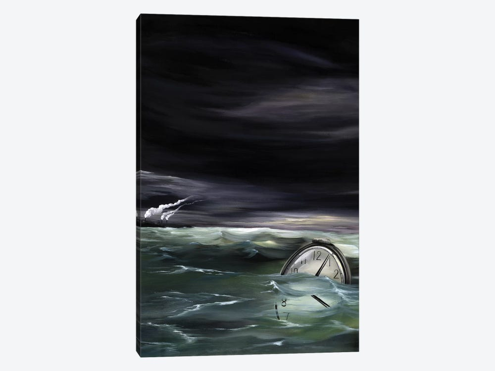 WI Book by Kristin Llamas 1-piece Canvas Artwork