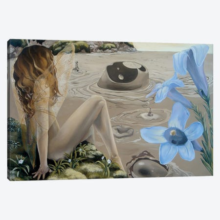 WY Book Canvas Print #KLL112} by Kristin Llamas Canvas Art Print