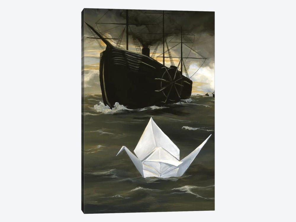 A Tsuru For Perry by Kristin Llamas 1-piece Canvas Artwork