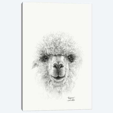 Benjamin Canvas Print #KLL17} by K Llamas Fine Art Canvas Wall Art