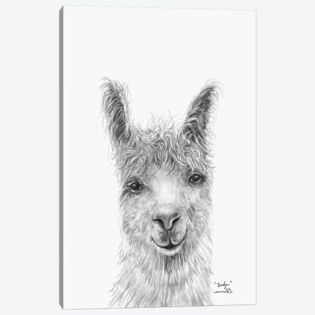 Bridger Canvas Print #KLL20} by K Llamas Fine Art Canvas Art