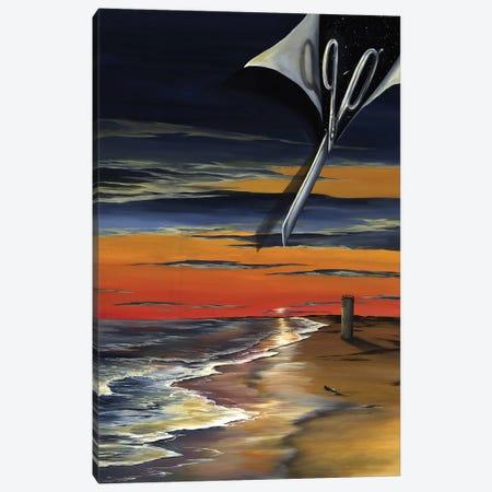 DE Book Canvas Print #KLL30} by Kristin Llamas Art Print