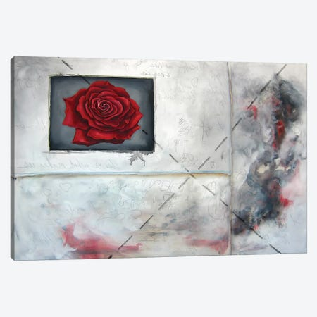 Enter Crimson Canvas Print #KLL35} by Kristin Llamas Canvas Artwork