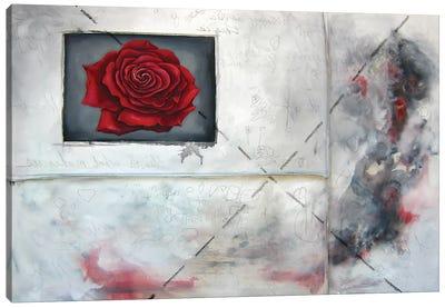 Enter Crimson Canvas Art Print