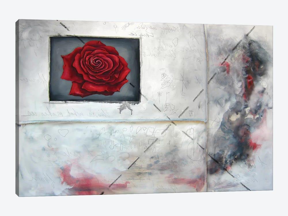 Enter Crimson by Kristin Llamas 1-piece Canvas Print