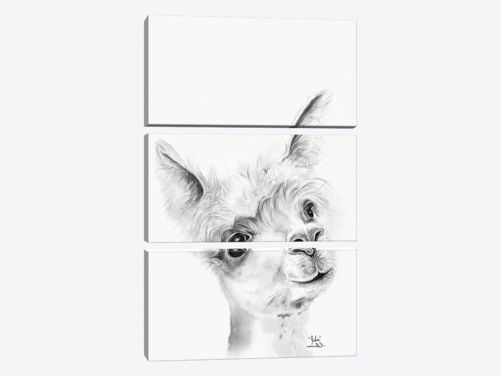 Julie by Kristin Llamas 3-piece Canvas Print