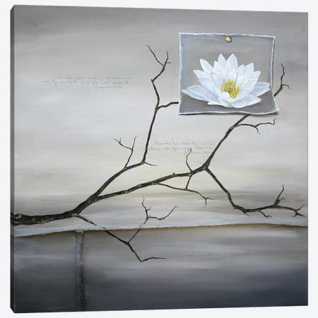 Lost Lotus Canvas Print #KLL68} by Kristin Llamas Canvas Artwork