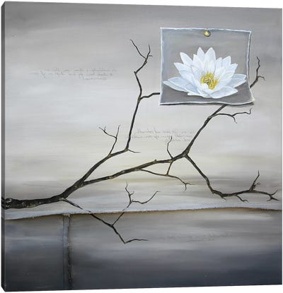 Lost Lotus Canvas Art Print