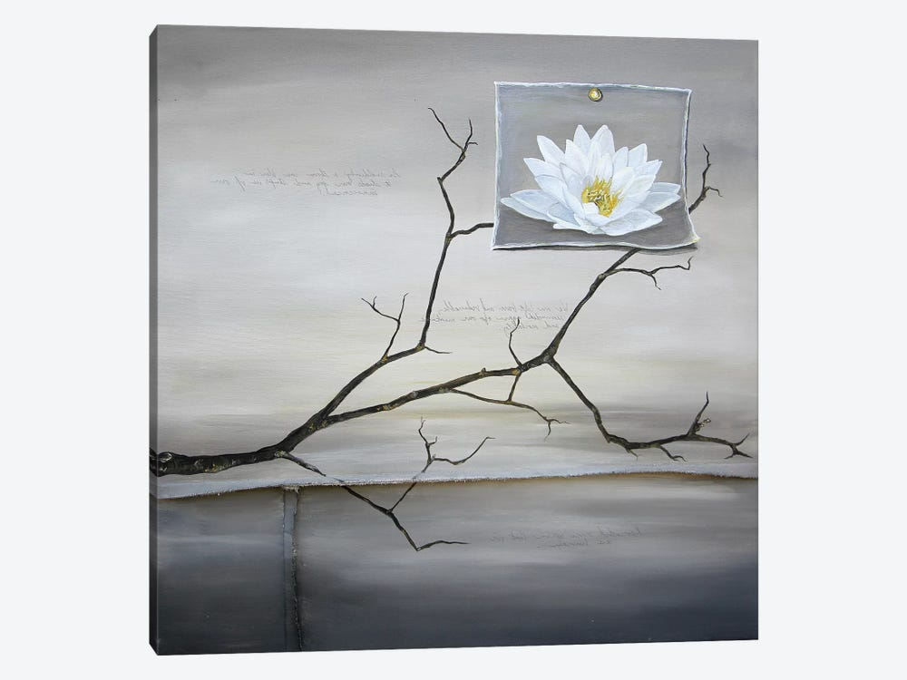 Lost Lotus by K Llamas Fine Art 1-piece Art Print
