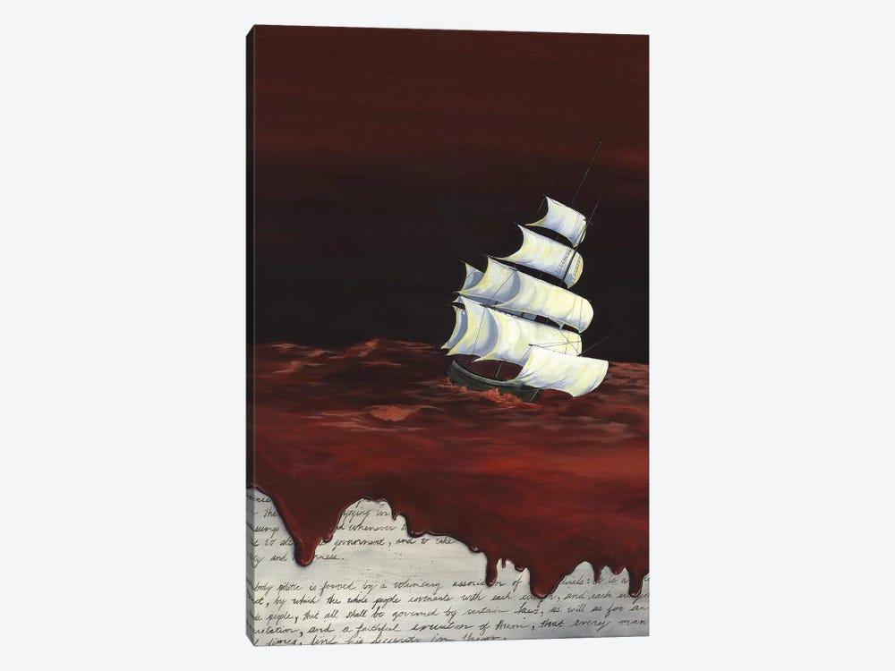 MA Book Bright by Kristin Llamas 1-piece Canvas Artwork