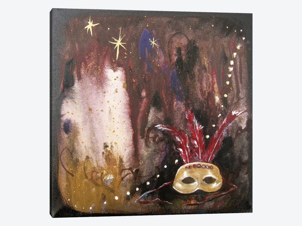 Mask I by Kristin Llamas 1-piece Canvas Print