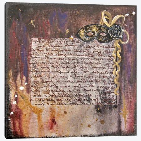 Mask II 3-Piece Canvas #KLL72} by Kristin Llamas Canvas Art Print
