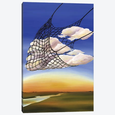 ME Book Canvas Print #KLL75} by Kristin Llamas Canvas Art