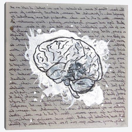 Mind 3-Piece Canvas #KLL77} by Kristin Llamas Canvas Artwork